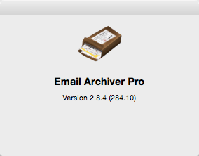 Email Archiver Pro 2.8.4