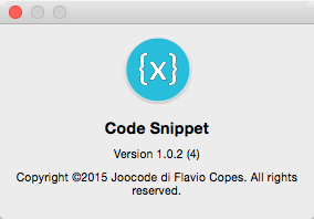 Code Snippet 1.0.2