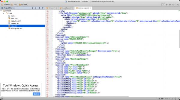 JetBrains WebStorm 10.0.4 for Mac