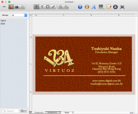 Business Card Composer 5.2