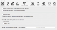 FontExplorer X Pro 5.5.1 - менеджер шрифтов для Mac