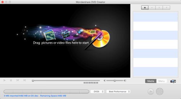 Wondershare DVD Creator for Mac 3.9.5