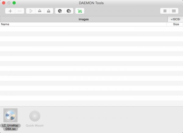 DAEMON Tools for Mac 3.1.171