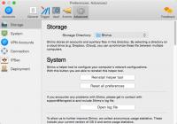 Shimo 4.1.4.1- VPN-клиент для Mac
