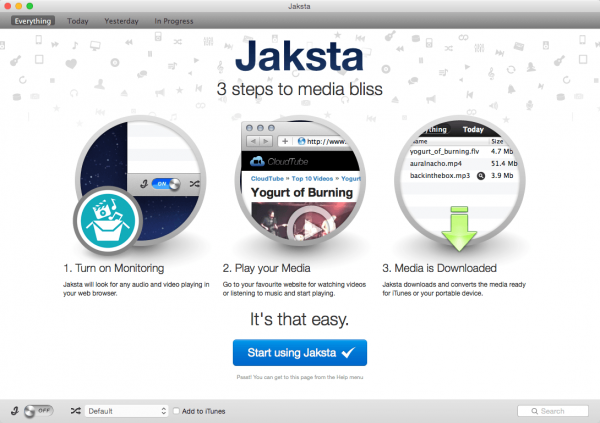 Jaksta Media Recorder 1.5.0 for Mac