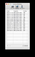 coconutBattery 3.3 - Отображает информацию о батарее вашего ноутбука.