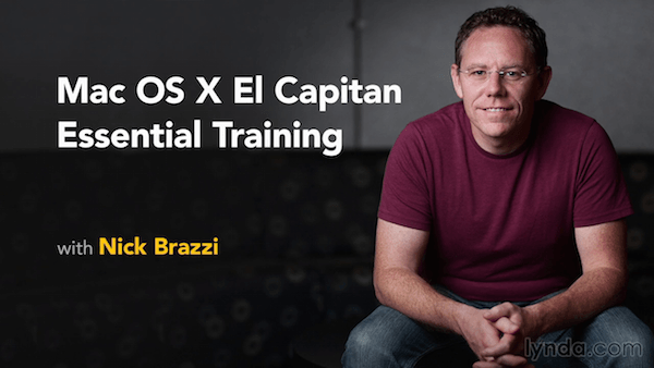Mac OS X: El Capitan Essential Training