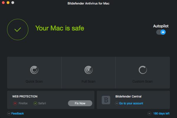 Bitdefender Antivirus for Mac 2016