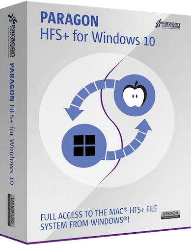 HFS+ for Windows® 10.5