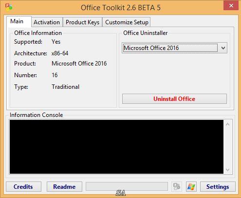 microsoft toolkit 2.6.2 final (windows & office activator)