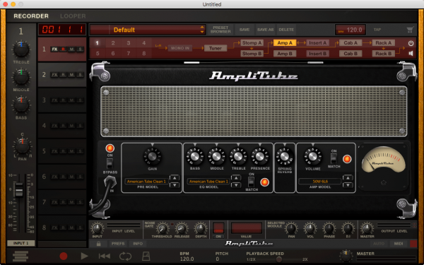 IK Multimedia AmpliTube 4 v4.0.2 for Mac