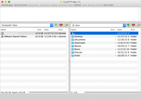 CuteFTP for Mac 3.1.3
