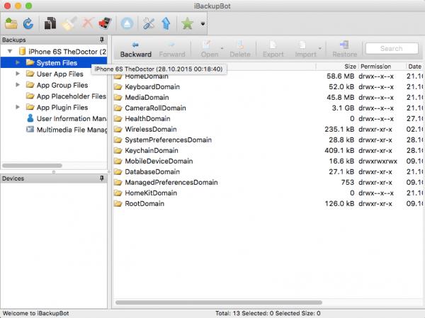 iBackupBot 5.4.2