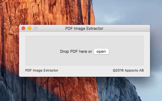 PDF Image Extractor 1.0 - Извлечение изображений из PDF файлов