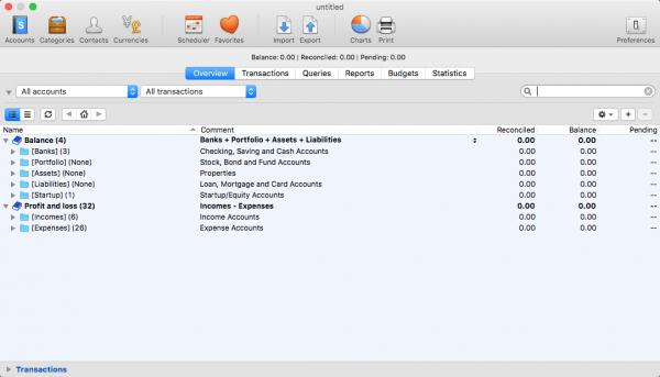 iCash 7.5.8 – для учета финансов