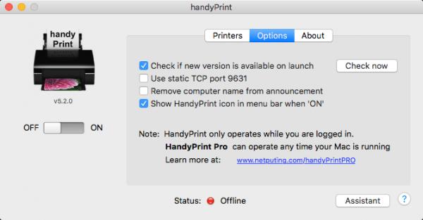 handyPrintPRO 5.3.0