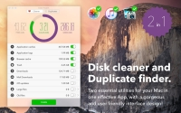 Disk Health 1.2 - инструмент для очистки диска и поиска дубликатов