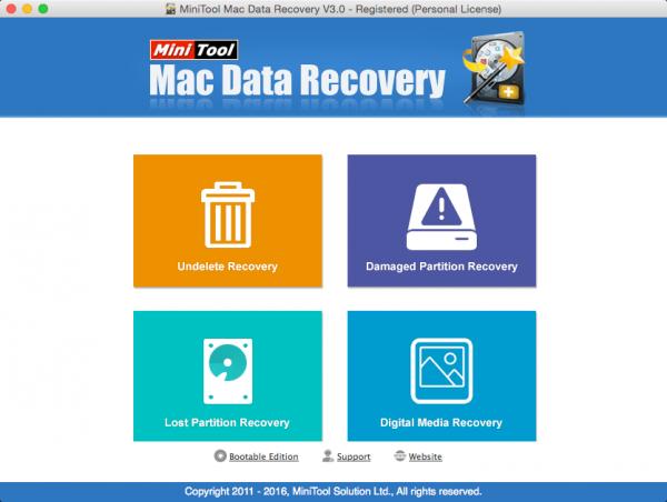 MiniTool Data Recovery 3.0.2
