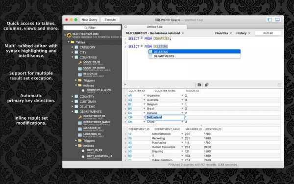 SQLPro for Oracle 1.0.0