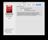 iClipboard 6.0.0 - продвинутый менеджер буфера обмена