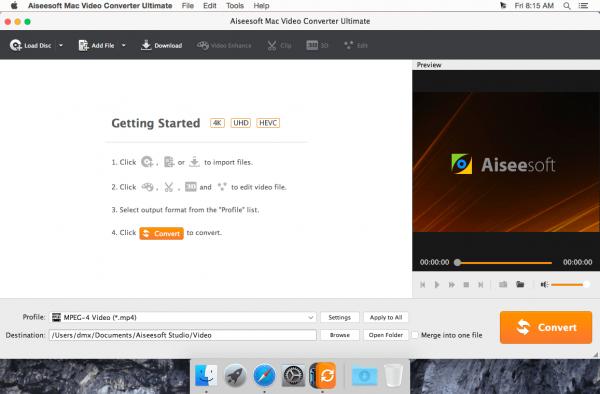 Aiseesoft Mac Video Converter Ultimate 9.0.20