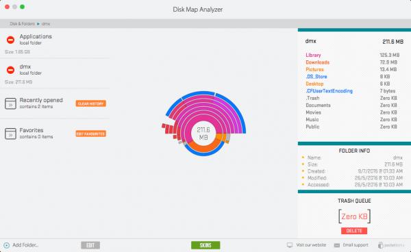 Disk Map Analyzer 1.5