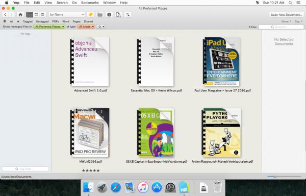 Yep 3.7.4 - каталогизатор PDF-файлов