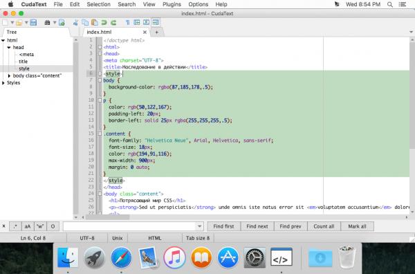 CudaText 1.3.19
