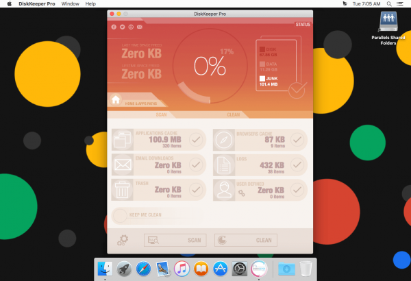 DiskKeeper Pro 1.4.10