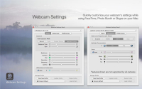 Webcam Settings 2.3