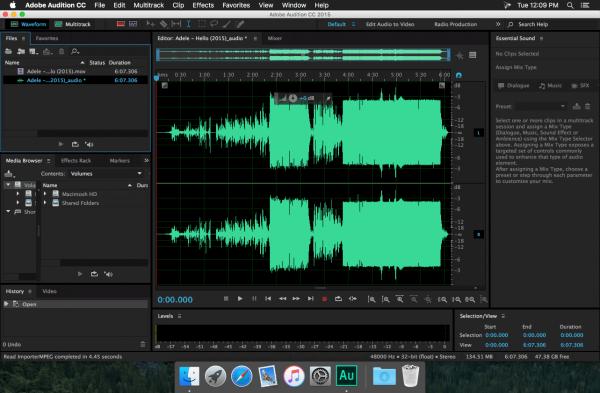 Adobe Audition CC 2015.2 v9.2.1 for Mac