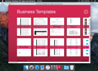 Business Templates (for Pages and Numbers) 2.0.1