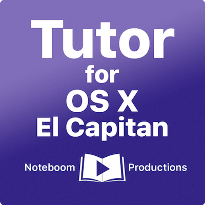 Tutor for OS X El Capitan 10.11