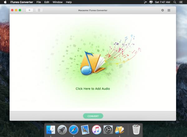 Macsome iTunes Converter 2.0.6