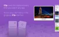 iClip 5.2.2 - утилита для работы с буфером обмена в Mac OS X.