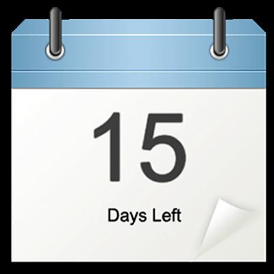 Countdown widget 6.3