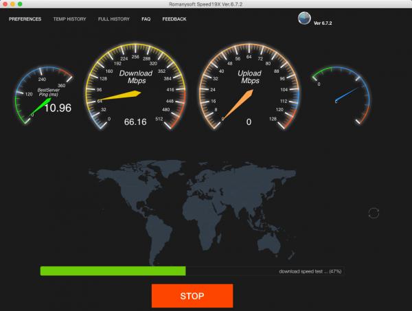 SpeedTest 6.7.2
