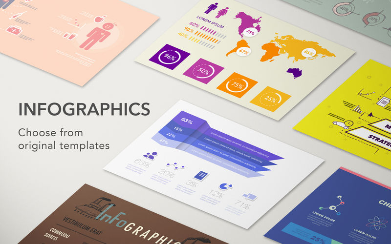 Adobe illustrator infographic template