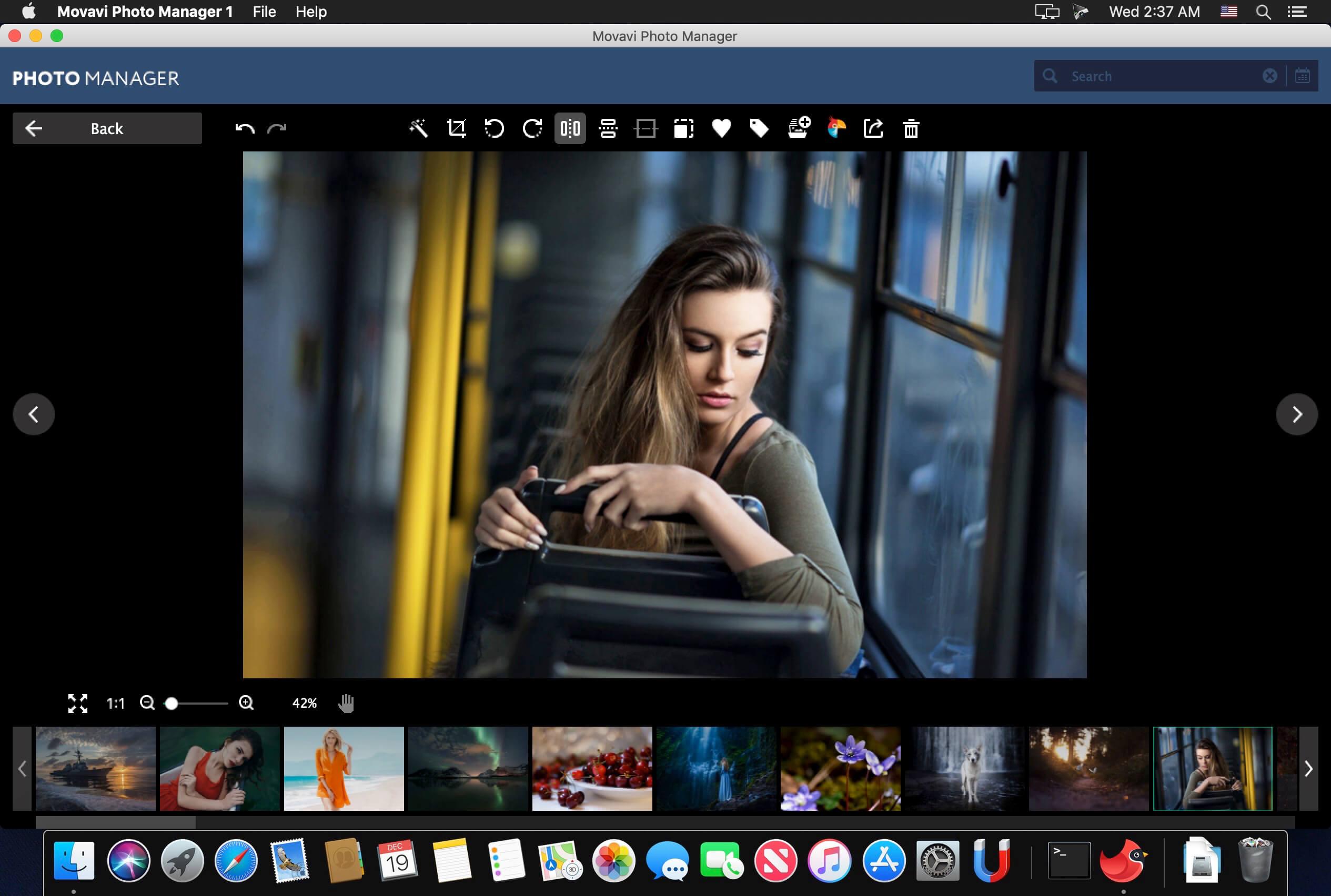 Просмотр фото в браузере