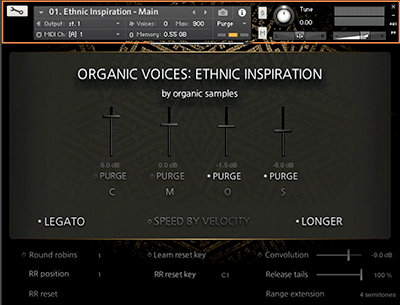 Organic Samples Organic Voices Vol 2 - Ethnic Inspiration v1.1 KONTAKT