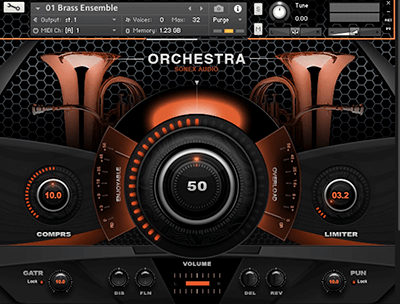 Sonex Audio Brass Ensemble KONTAKT