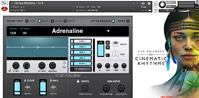 Red Room Audio Cue Builders Cinematic Rhythms v1.0 KONTAKT
