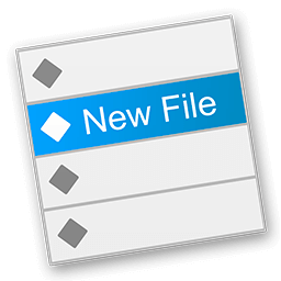 New File Menu 1.4.2